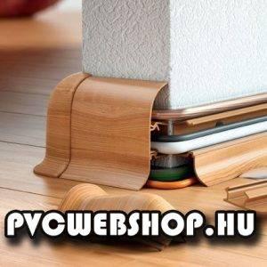 Merev Kábelcsatornás PVC szegély
